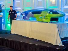 Studenten TU Delft hebben nieuw record met waterstofauto