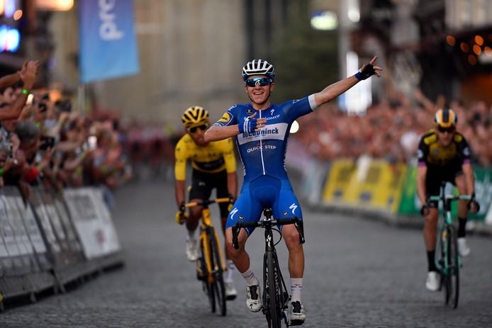 Remco Evenepoel a dominé Egan Bernal au Critérium d'après-Tour d'Alost. Deux hommes qu'on risque de revoir souvent confrontés dans les prochaines années.