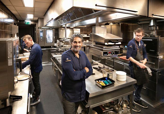 Soenil Bahadoer eerder dit jaar, tijdens het 25-jarig jubileum van restaurant De Lindehof.