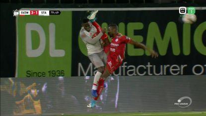 Sylla  2 assists, 1 goal en spectaculair rood