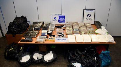 Politie rolt uiterst professionele drugsbende in Zaventem en Brussel op: cocaïne met straatwaarde van 40 miljoen euro verstopt achter valse wanden