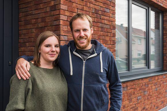 Laura en Glenn twijfelden lang tussen binnen- of buitenisolatie voor hun rijwoning in Tongeren.