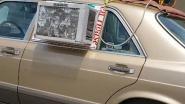 Chauffeurs gieren het uit wanneer ze auto met wel heel aparte airco zien