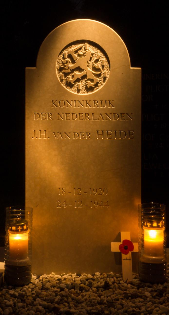 Lichtjes op oorlogsgraven, elders in het land.