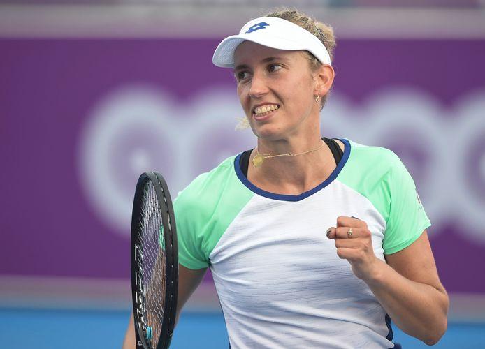 Si Kirsten Flipkens émet des doutes quant à sa participation, Elise Mertens, elle, veut jouer l'US Open cet été.