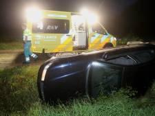 Bestuurder gewond na ongeluk op zandpad bij Haaren