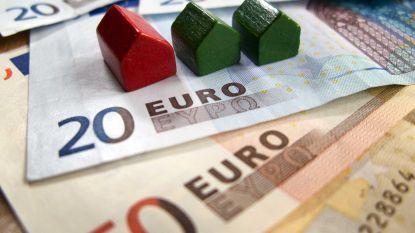 Een op de twintig gezinnen heeft lening voor bijkomend vastgoed