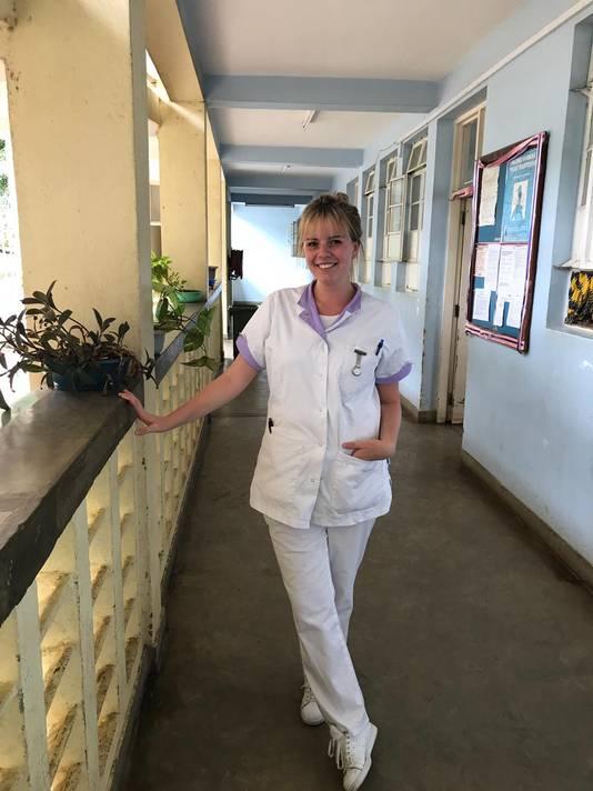 Michelle de Geus in Tanzania.