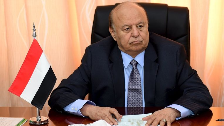 Abd-Rabbu Mansour Hadi. Beeld reuters