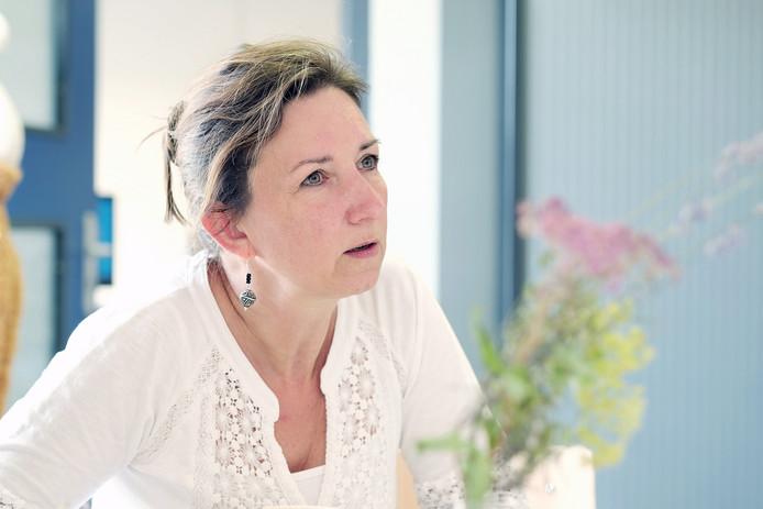 Verpleegkundige Chantal Müller.
