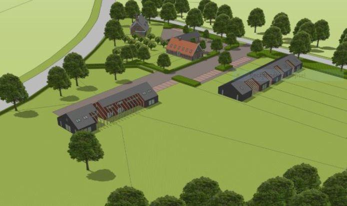 De nieuwbouw aan de Ypeloweg in de Wierdense buurtschap Ypelo krijgt als straatnaam Ypelohof.