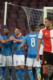 Gehavend Feyenoord krijgt koude douche bij Napoli