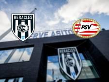 PSV sluit zondag opnieuw, Heracles de tegenstander