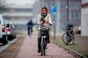 Appen op de fiets is er straks niet meer bij. Foto Robin Utrecht
