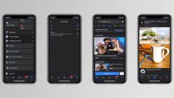 Facebook rolt nu ook 'Dark Mode' uit voor iOS