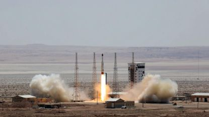 Mislukte poging voor Iran om nieuwe satelliet in baan rond de aarde te brengen