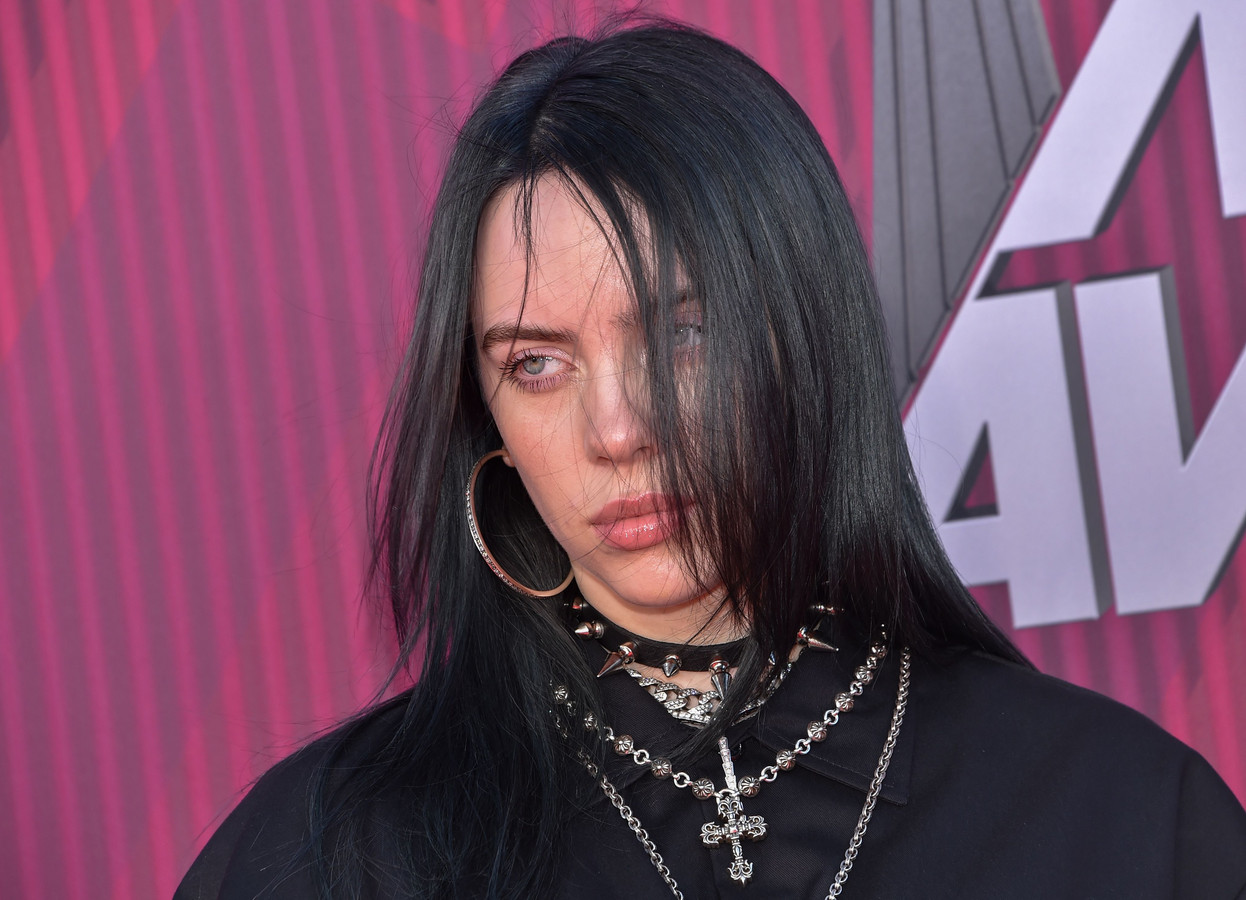 Zangeres Billie Eilish.