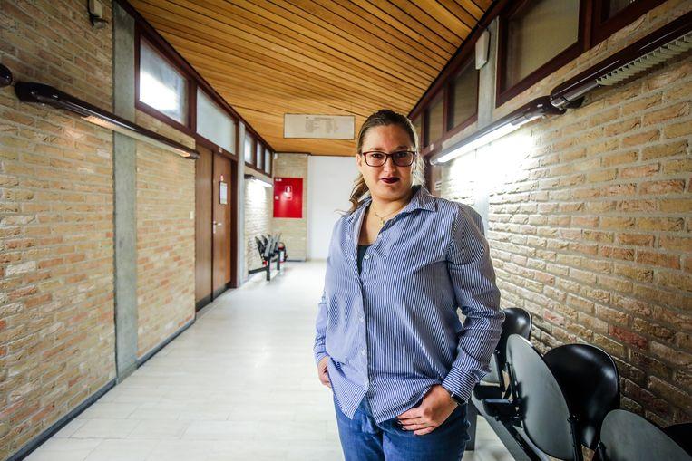 Hot Marijke was zelf aanwezig op de rechtbank van Veurne.
