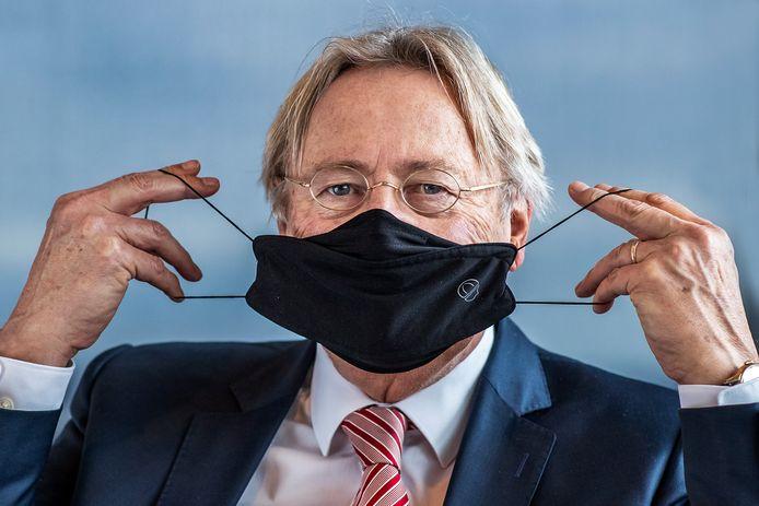 Waarnemend burgemeester Den Oudsten: 'Als ik nu door de stad loop en al die dichte cafés en restaurants zie, dan word ik heel verdrietig'