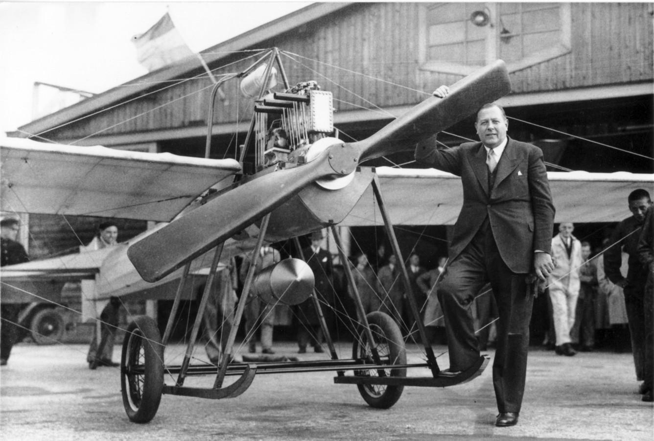 Vliegtuigbouwer Frits Koolhoven is een straatnaam waard, vindt het Historisch Collectief Charlois.
