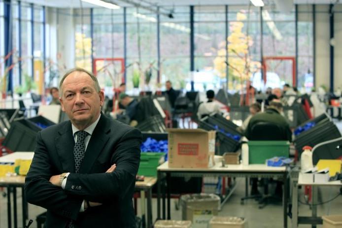 Voormalig interimdirecteur Johan van Kouterik van Permar.