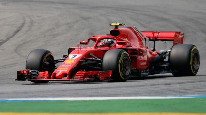 LIVE F1. Einde wedstrijd voor Vettel na crash in 'Schumacherbocht'- Hamilton gaat aan de leiding