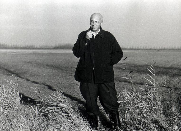 """""""Mansholt wás een boer, in hart en nieren, en zou ook in die gedaante met de boeren in gesprek gaan."""" Beeld ANP"""
