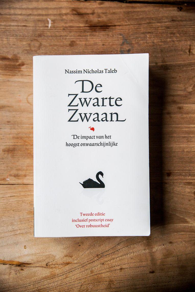 De bijbel van Maaskant: De Zwarte Zwaan van Nassim Nicholas Taleb. Beeld Aurélie Geurts