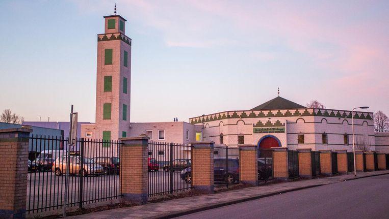 De bewuste moskee in Enschede. Beeld ANP