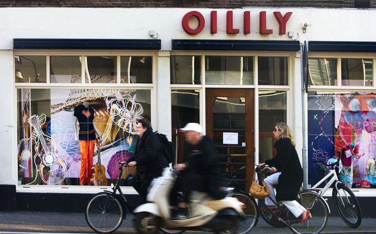Een gesloten Oilily-vestiging in Amsterdam. Foto ANP/Ade Johnson Beeld