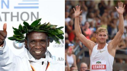 Kipchoge en Mayer: de twee nieuwe koningen van de atletiek voorgesteld door coach en concurrenten
