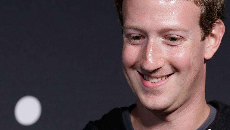 Mark Zuckerberg Beeld getty