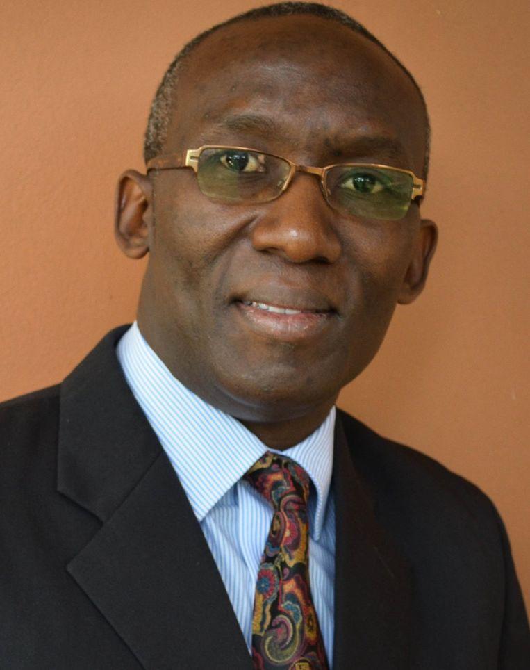 Emmanuel Luyirika, directeur van de Afrikaanse Palliatieve Zorgassociatie (APCA) Beeld Foto APCA