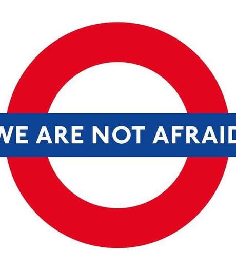 Britten maken zich sterk op Twitter: #WeAreNotAfraid