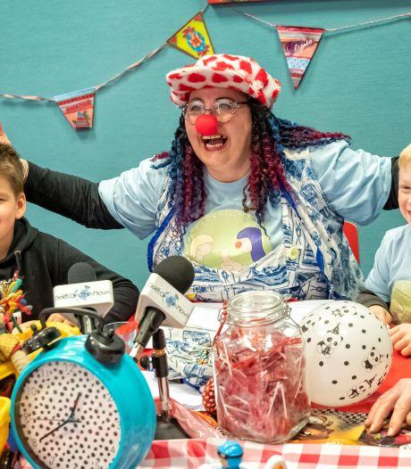 Lachen tijdens de lockdown met clown Myrrhe: 'Ik doe wat ik het liefst doe: kinderen blij maken'