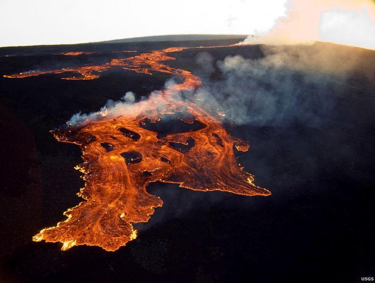 De Mauna Loa-vulkaan op Hawaii. Beeld Reuters