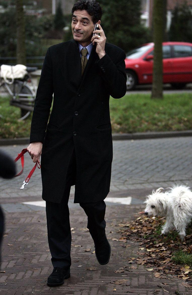 Spong:'Ik heb één dress code op kantoor: pak en das' Beeld anp