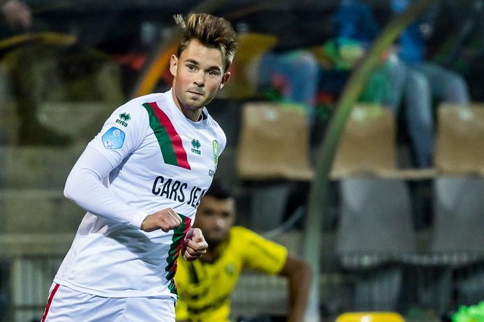 Goppel debuteerde tegen VVV in het eerste
