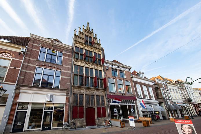 Het Gotisch Huis aan de Oudestraat in Kampen.
