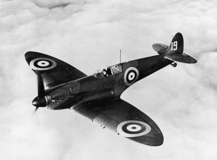 Een Spitfire Beeld Getty