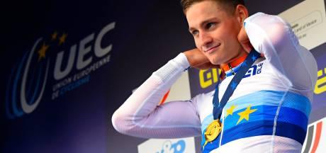Mathieu van der Poel décroche un troisième titre européen d'affilée
