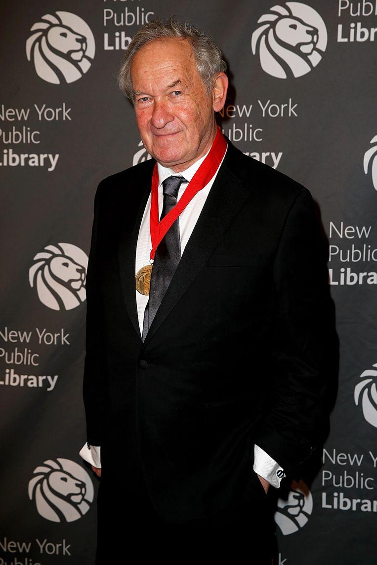 Simon Schama in de openbare bibliotheek in New York. Beeld Dominik Bindl / Getty