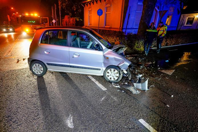 Ongeval op de Oosterhoutseweg in Raamsdonksveer.