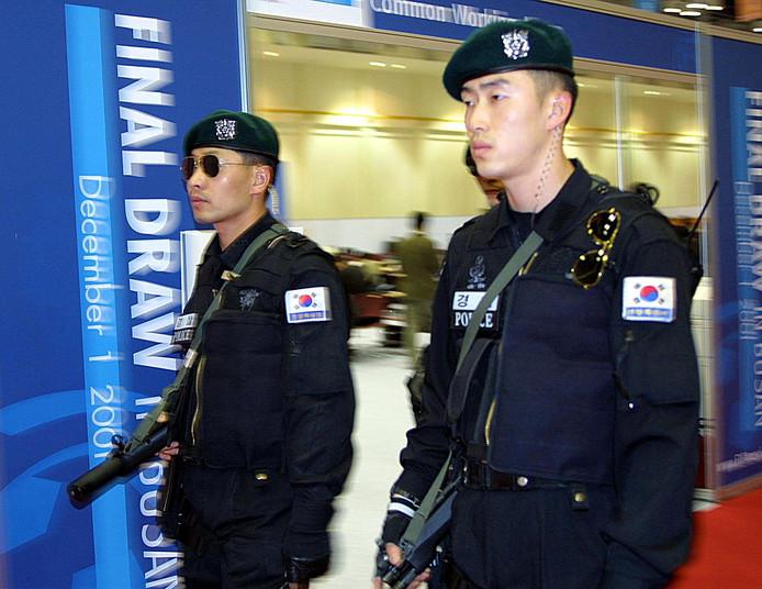 Politie in Zuid-Korea