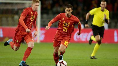 8,8 miljoen surfers stemmen De Bruyne en Hazard in UEFA Fans' Team van het Jaar