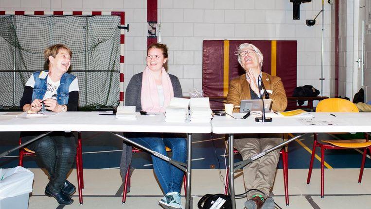 Stembureau op basisschool het Startpunt in de Schilderswijk - in 2012 stemde daar 76,75 procent op de PvdA. Beeld Renate Beense