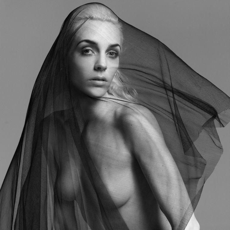 Het Belgische topmodel Hannelore Knuts. Beeld Inez van Lamsweerde en Vinoodh Matadin