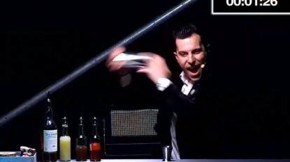 Dit is de beste barman ter wereld