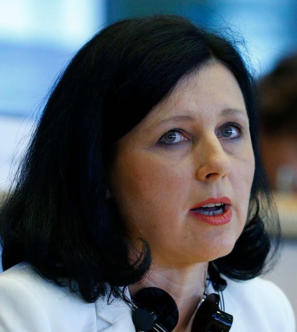 EU-commissaris van Consumentenzaken Vera Jourová.