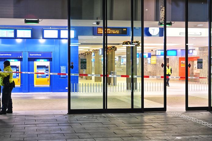 Verdacht pakketje station Breda